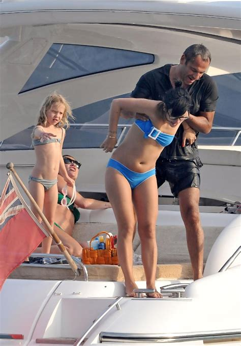 Lila Grace Moss in Kate Moss and Lily Allen on a Yacht