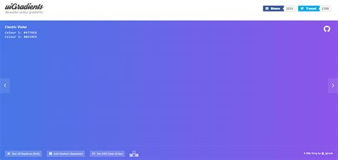 7 Useful Tools That Generate CSS Gradients | Web & Graphic