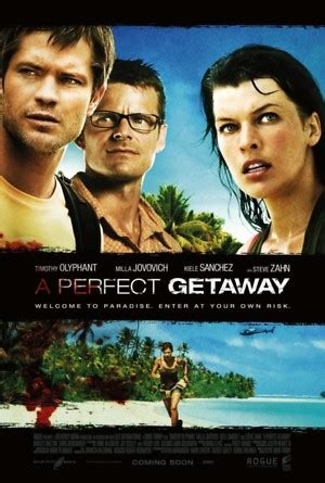 A Perfect Getaway DVD Release Date August 22, 2010